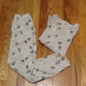 Boys' 7 Fitted PJs, EUC